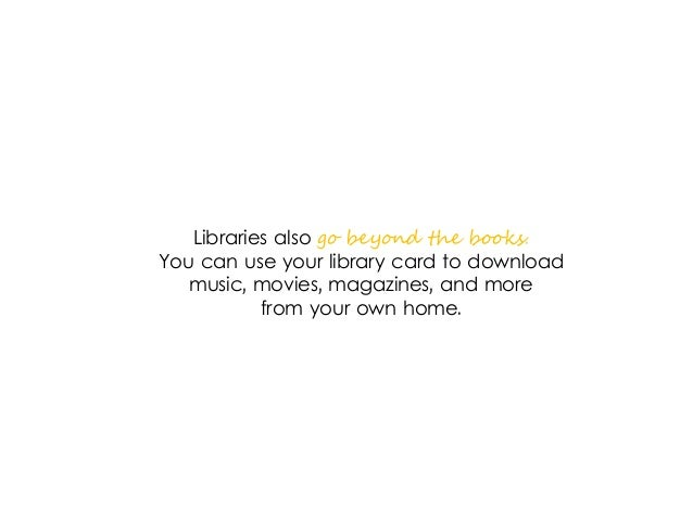 Reasons Everyone Should Have A Library Card