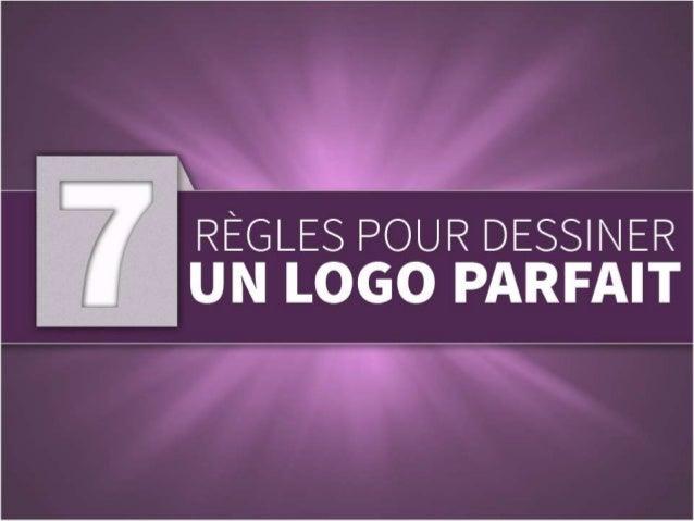 7 regles pour dessiner un logo parfait design de logo