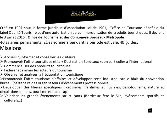 office de tourisme bordeaux metropole