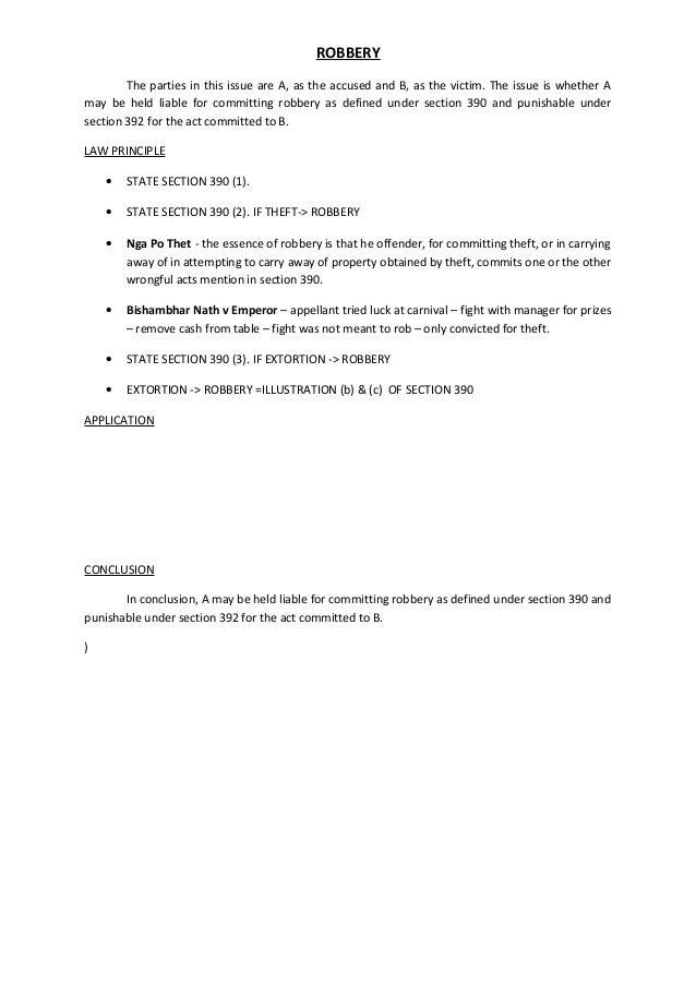 section 392 ipc