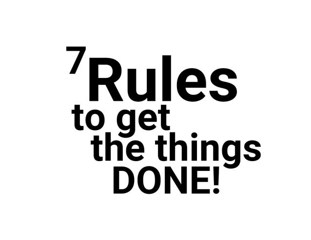 Krasimir Tsonev: 7 Rules to Get the Things Done at I T.A.K.E. Unconference