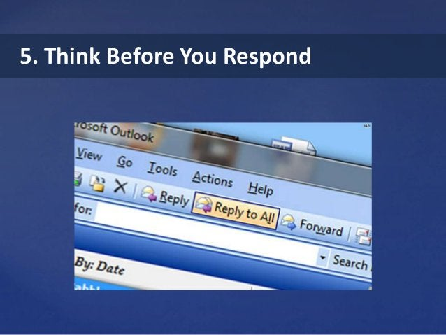 5. Think Before You Respond