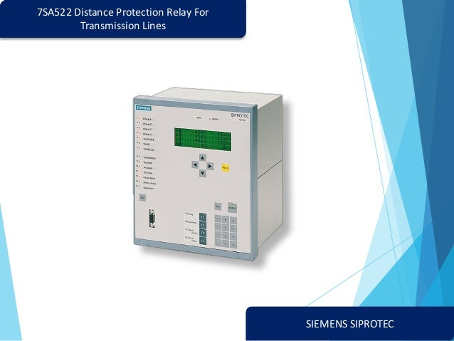 7sa522 distance protection relay for transmission linesSiprotec 7sa522 Protection Relay Single Line Diagram Provides #3