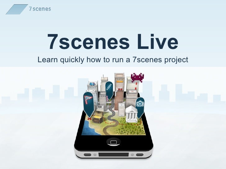 7scenes LiveLearn quickly how to run a 7scenes project