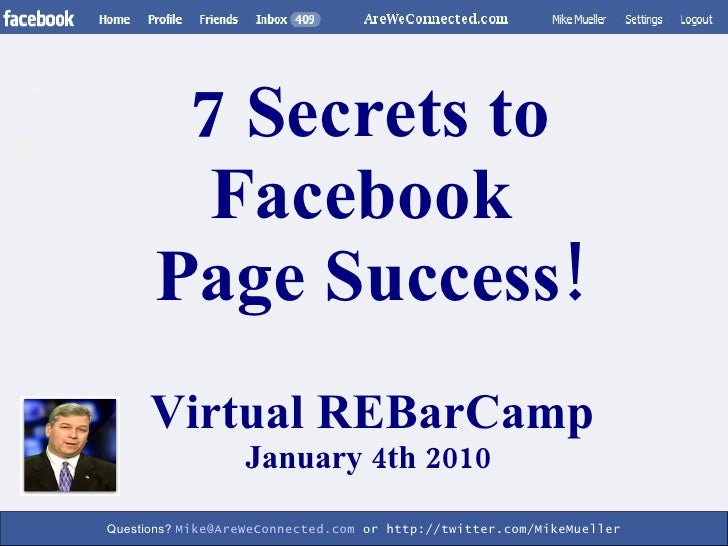 how to get email address from facebook page