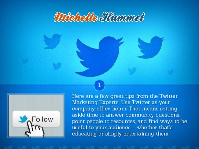 7 Secrets of the Twitter Marketing Experts Slide 2