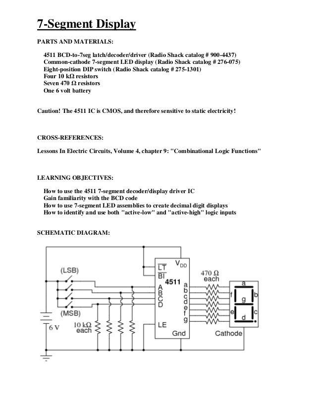 7 segment display rh slideshare net