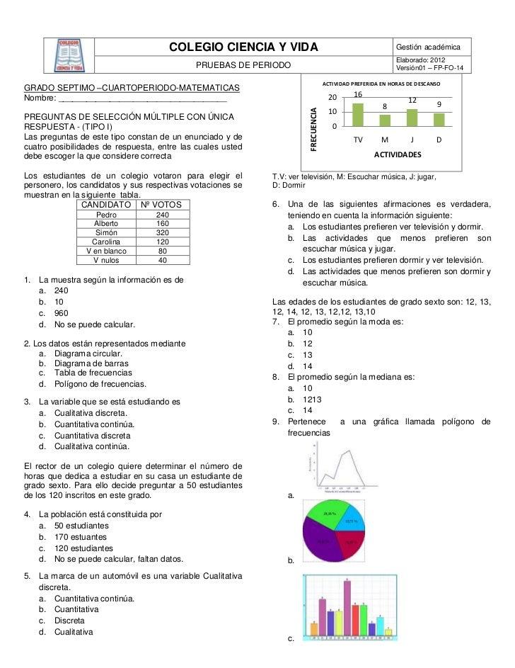 COLEGIO CIENCIA Y VIDA                                              Gestión académica                                     ...