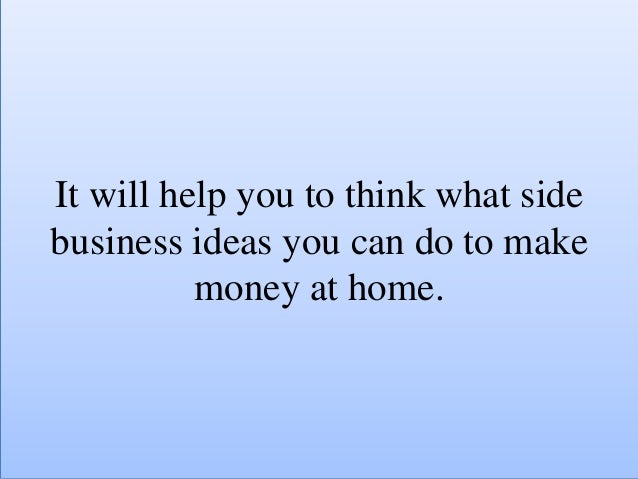 7 side business ideas for 2016 for single moms