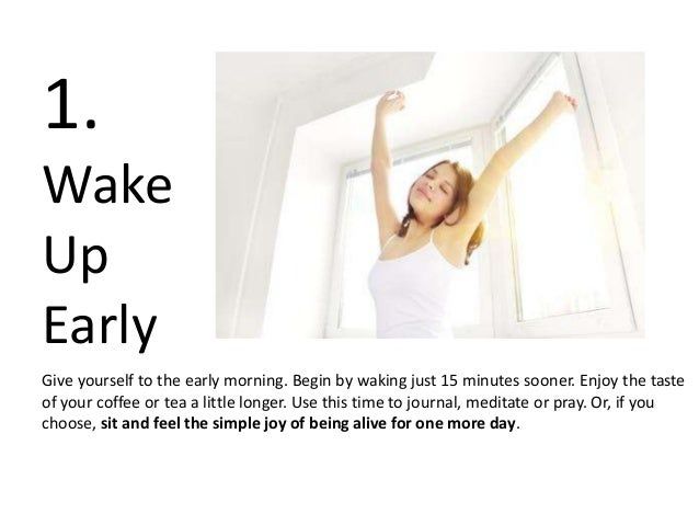7 Simple Things To Do Every Day Slide 3
