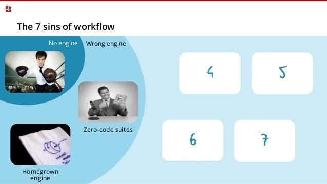 7 sins of workflow