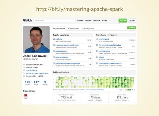 Beneath RDD in Apache Spark by Jacek Laskowski Slide 3