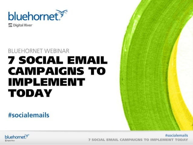 7 Social Email Campaigns to Implement Today