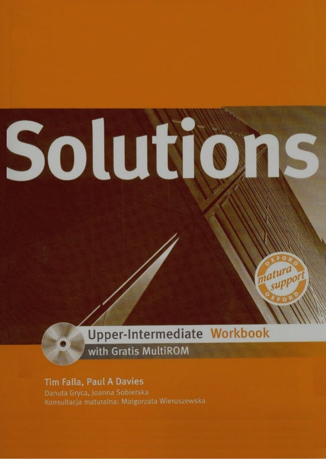 7 Solutions Upper Intermediate Workbook