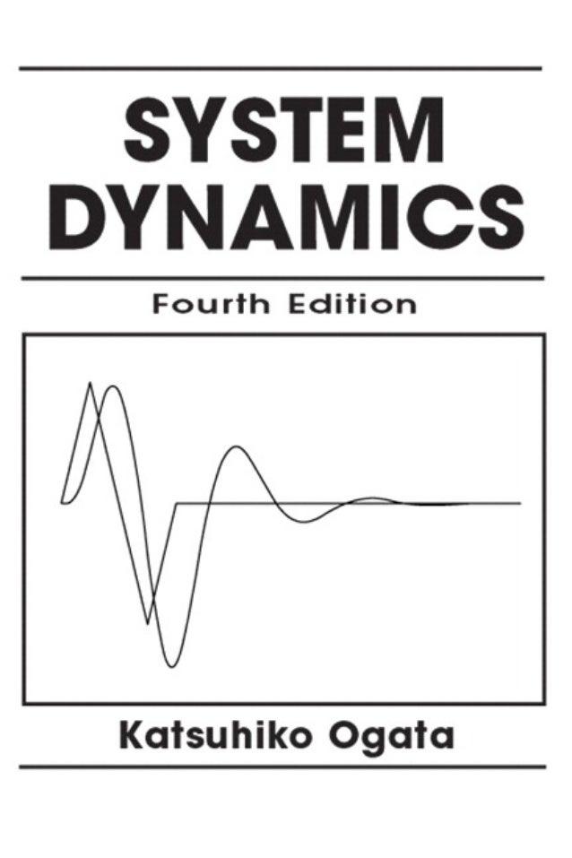 Katsuhiko Ogata System Dynamics 4th Edition Book
