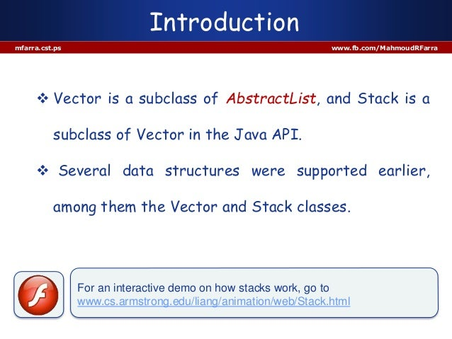 7 stack and vector Slide 3