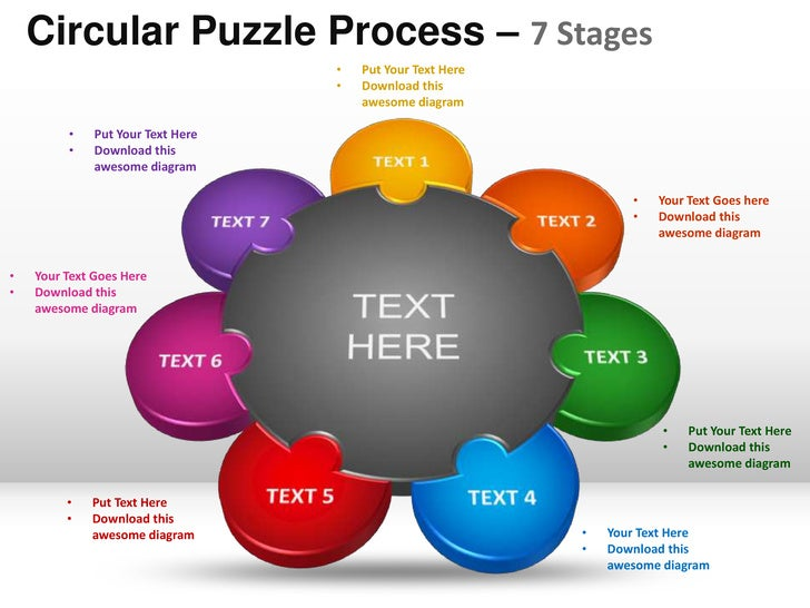 7 stages circular puzzle process powerpoint templates powerpoint templates circular puzzle process 7 stages toneelgroepblik Image collections