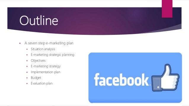e marketing plan En el presente informe podremos encontrar información de dichos modelos de negocio electrónico junto con sus ejemplos además de presentar un plan estratégico para.