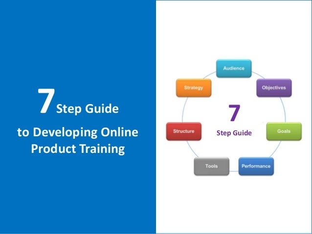 7Step Guideto Developing OnlineProduct Training7Step Guide