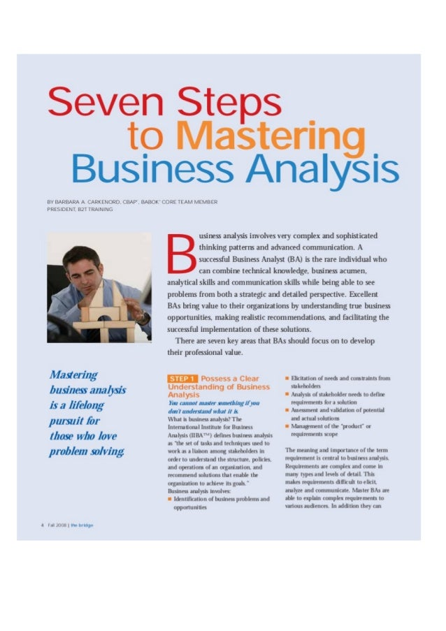7 Steps to a Training Needs Analysis