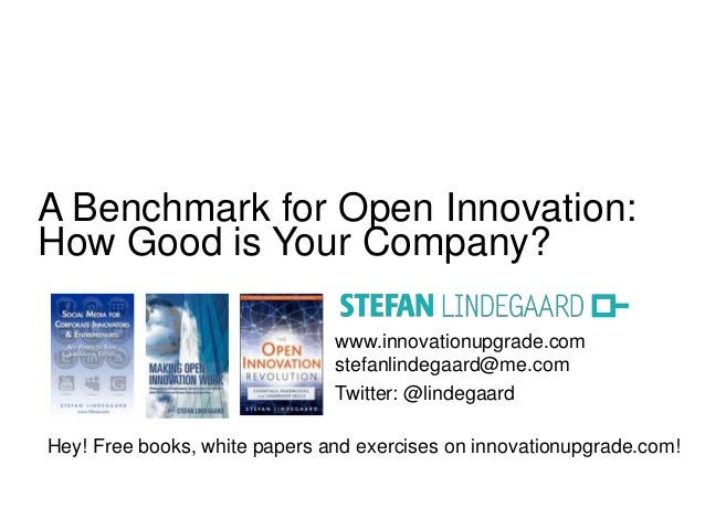 www.innovationupgrade.com stefanlindegaard@me.com Twitter: @lindegaard Hey! Free books, white papers and exercises on inno...