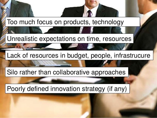 Why you should not  pay too much  attention to this!  Open innovation changes  perspectives and approaches
