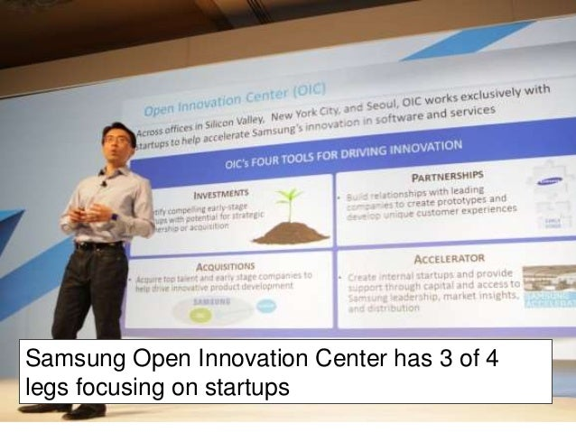 Current (open)  innovation trends  • go beyond products and technologies - more  innovation teams without R&D link even in...
