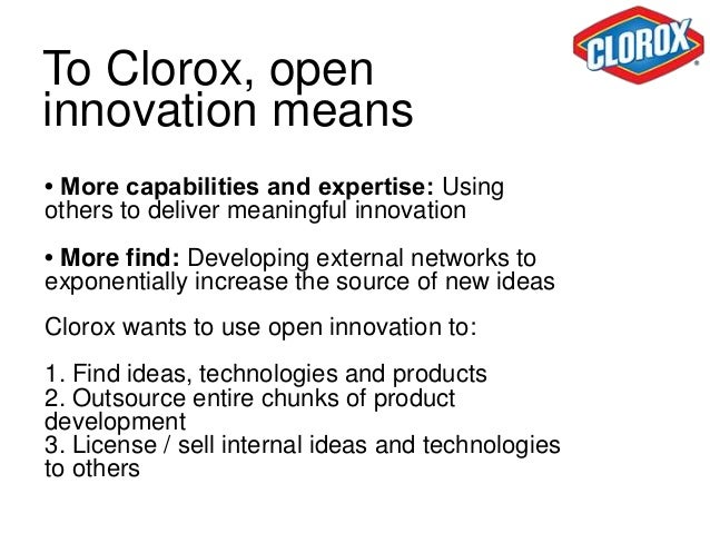 """What is Connect  + Develop?  """"It's our version of open  innovation: the practice of  tapping externally  developed intelle..."""