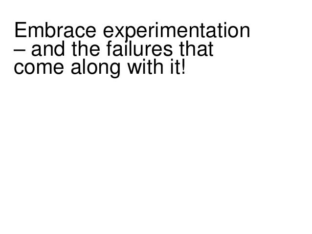 Intrapreneurship is  an overlooked tool!