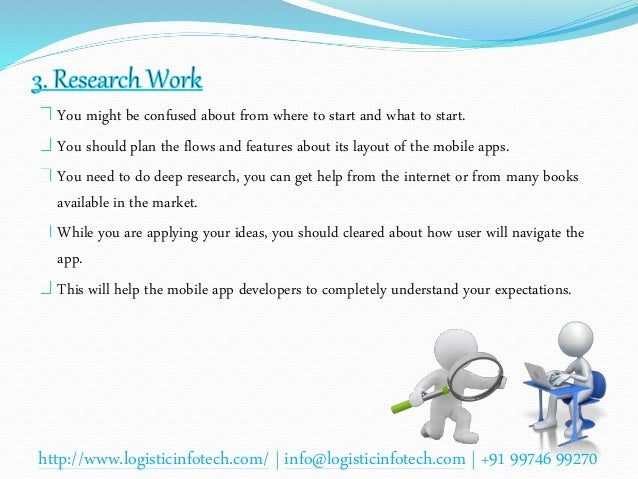 Research paper on mobile application development