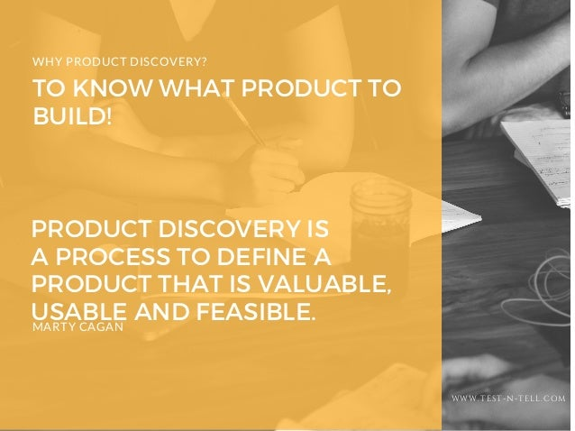 7 steps of product discovery Slide 2