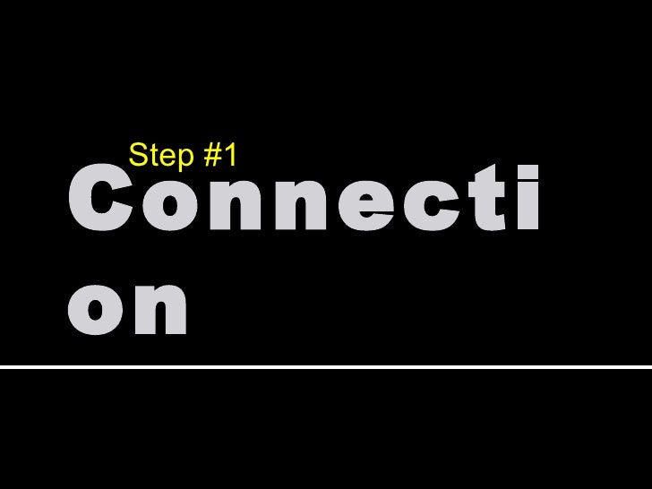 Connection Step #1