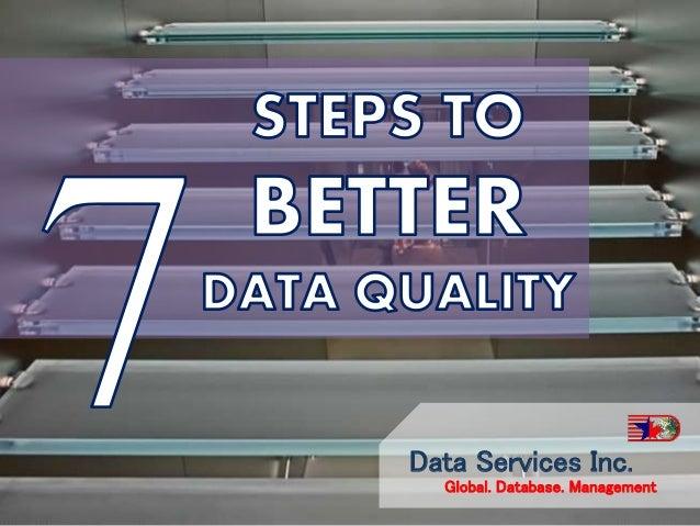 Data Services Inc. Global. Database. Management