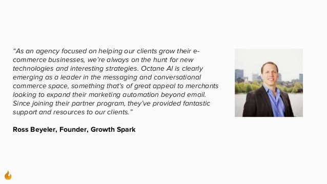 """""""As an agency focused on helping our clients grow their e- commerce businesses, we're always on the hunt for new technolog..."""