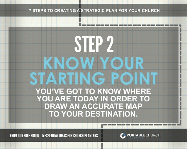 7 Steps To Creating A Strategic Plan For Your Church