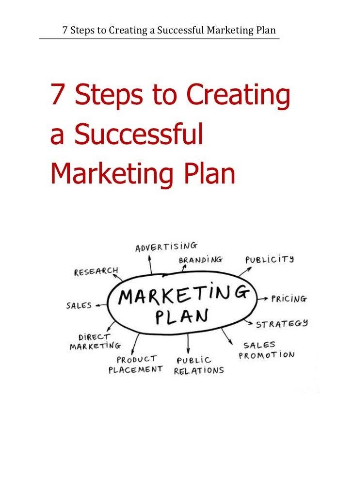 7 Steps to Creating a Successful Marketing Plan7 Steps to Creatinga SuccessfulMarketing Plan