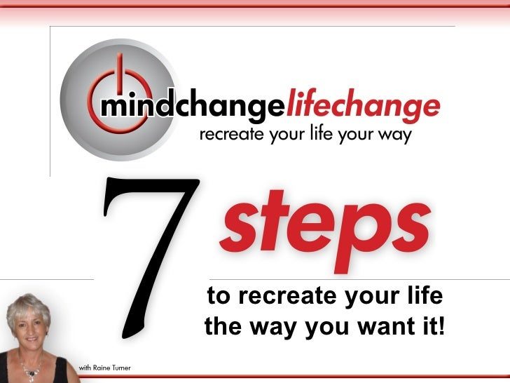 to recreate your lifethe way you want it!