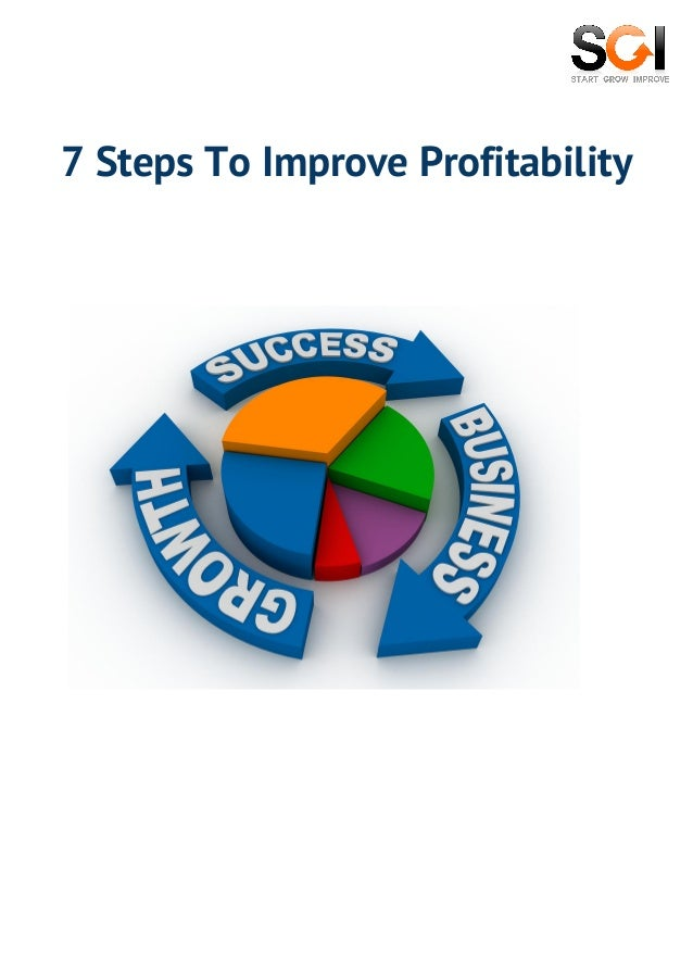 How To Get Funding For Your Startup 7 Steps To Improve Profitability