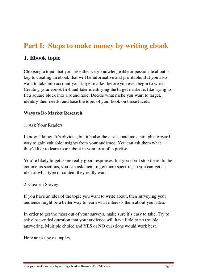 Online writer salary