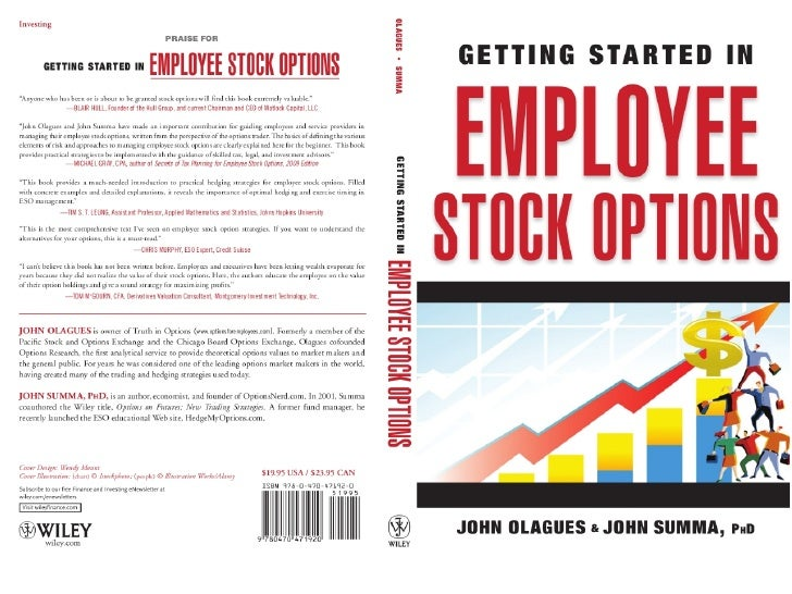 Managing Risks for Your Company Stock Options   StockOpter