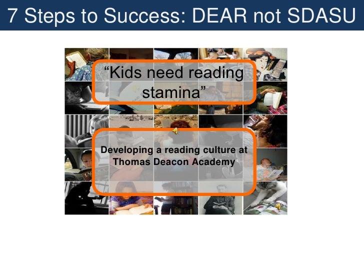 7 Steps to Success: DEAR not SDASU<br />
