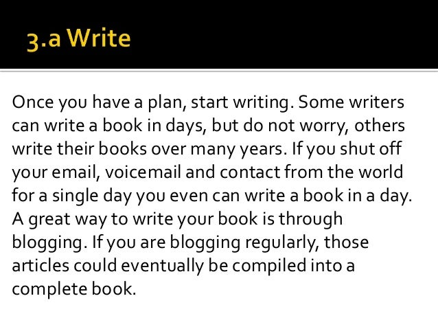 Hire a writer to write your book