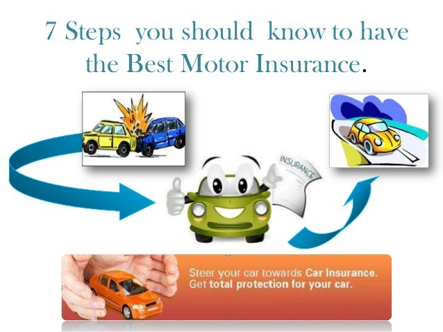 7 Steps you should know to have the Best Motor Insurance. ===================================