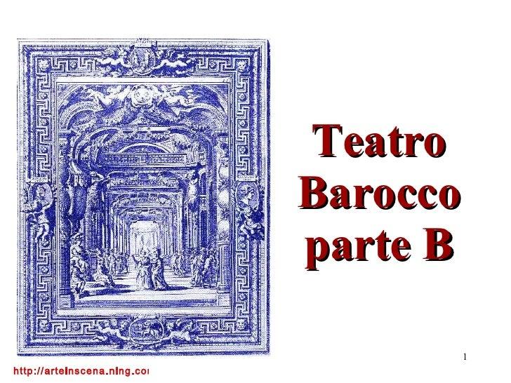 Teatro Barocco parte B