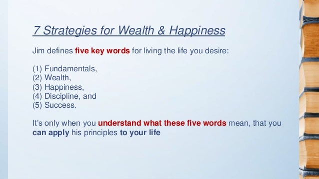 jim rohn 7 strategies for wealth and happiness pdf