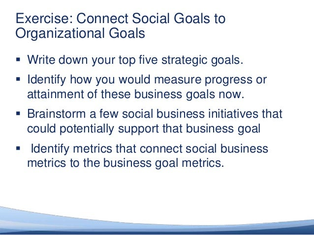 Success Factor #2: Establish the Long-Term Vision Articulate a vision for becoming a social business and the value that wi...