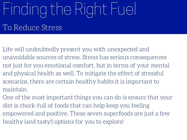 Certain Foods And Effect On Mental Health