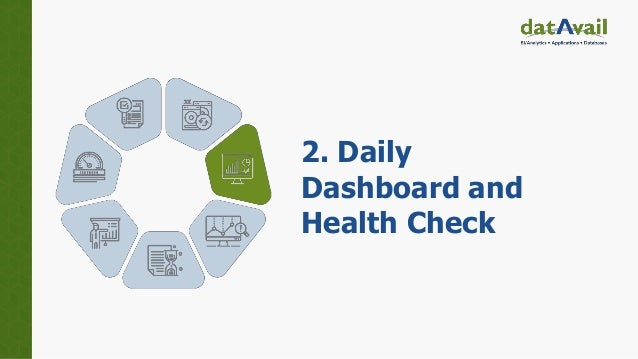 2. Daily Dashboard and Health Check