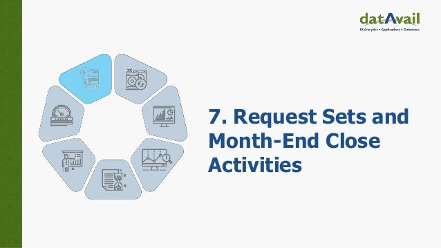 7. Request Sets and Month-End Close Activities