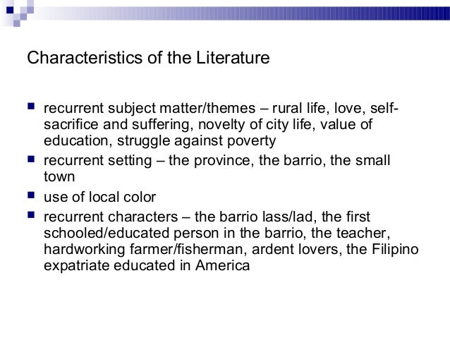 reflection in philippine literature It was philippine literature in english which tapped the folk element in the philippine unconscious to impressive, spectacular effect nick joaquin, through his neo-romantic, poetic and histrionic style, is reminiscent of the dramas of balagtas and de la cruz.